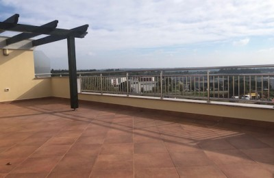 Luxury three bedroom apartment with a large terrace and a beautiful view