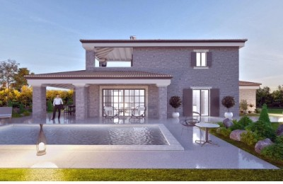 Villa with pool, newly built