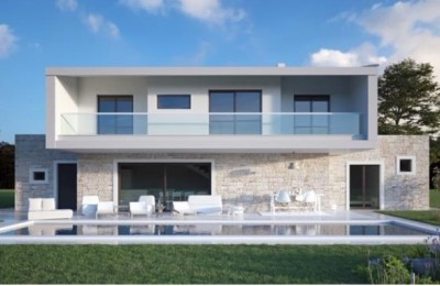 Luxury villa, new building, Porec